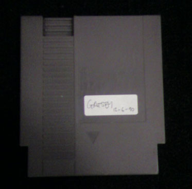 Photo of Gatsby NES Cartridge